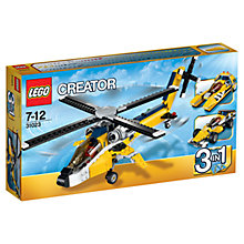 Buy LEGO Creator 3-in-1 Yellow Racers Online at johnlewis.com