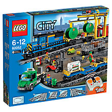 Buy LEGO City Cargo Train Bundle with Free Watch Online at johnlewis.com