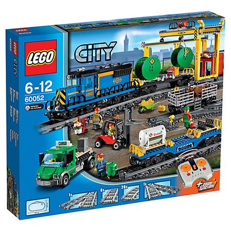 buy lego city 60052 cargo train john lewis. Black Bedroom Furniture Sets. Home Design Ideas