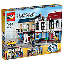 Buy LEGO Creator 3-in-1 Bike Shop & Cafe Online at johnlewis.com