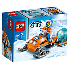 Buy LEGO City Arctic Snowmobile Online at johnlewis.com