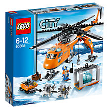 Buy LEGO City Arctic Helicrane Online at johnlewis.com