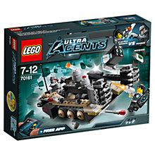 Buy LEGO Ultra Agents Tremor Track Infiltration Online at johnlewis.com