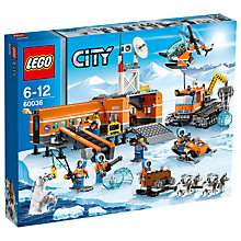 Buy LEGO City Arctic Base Camp Online at johnlewis.com