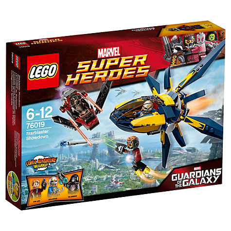 Buy LEGO Super Heroes Guardians of the Galaxy Starblaster Showdown Online at johnlewis.com