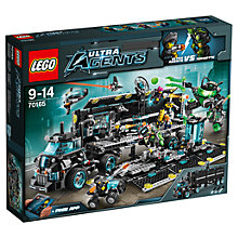 Buy LEGO Ultra Agents Mission HQ Online at johnlewis.com