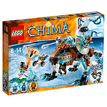 Buy LEGO Chima Sir Fangar's Saber-Tooth Walker Online at johnlewis.com