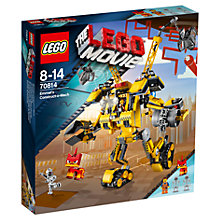Buy The LEGO Movie Emmet's Construct-o-Mech Online at johnlewis.com