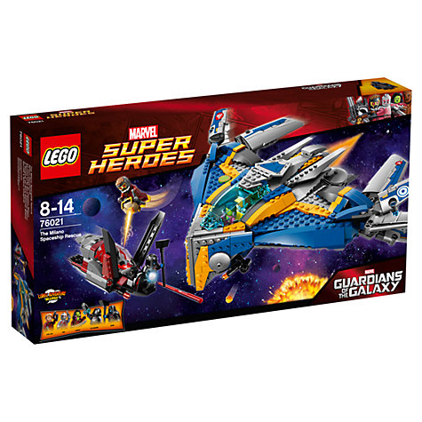 Buy LEGO Super Heroes Guardians of the Galaxy Milano Spaceship Online at johnlewis.com