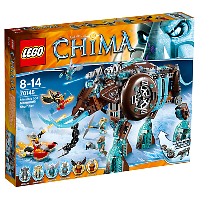 LEGO Chima Maula's Ice Mammoth Stomper