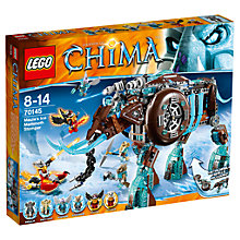 Buy LEGO Chima Maula's Ice Mammoth Stomper Online at johnlewis.com