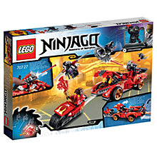 Buy LEGO Ninjago Masters of Spinjitzu X-1 Ninja Charger Online at johnlewis.com