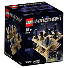 Buy LEGO Minecraft Micro World The End Online at johnlewis.com