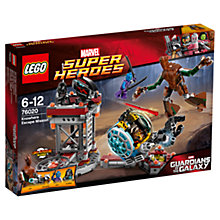 Buy LEGO Super Heroes Guardians of the Galaxy Knowhere Escape Mission Online at johnlewis.com