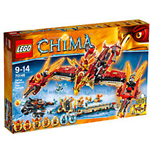 Buy LEGO Chima Flying Phoenix Fire Temple Online at johnlewis.com