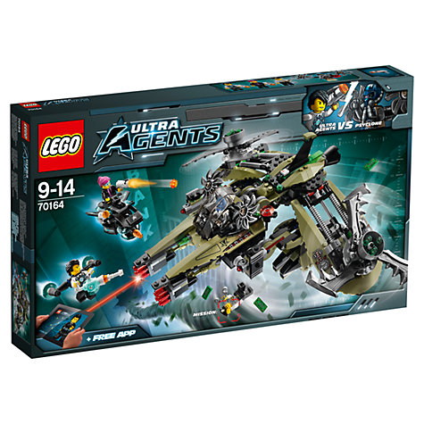 Buy LEGO Ultra Agents Hurricane Heist Online at johnlewis.com
