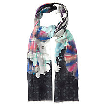 Buy White Stuff Ikat Scarf, Multi Online at johnlewis.com