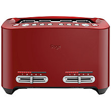 Buy Sage by Heston Blumenthal Smart 4-Slice Toaster Online at johnlewis.com