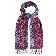 Buy White Stuff Placed Flower Scarf, Multi Online at johnlewis.com