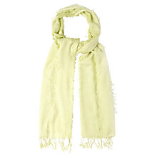 Buy White Stuff Fiona Plain Scarf, Pistachio Online at johnlewis.com