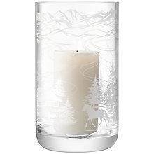 Buy LSA Tirol Storm Lantern, H26cm Online at johnlewis.com