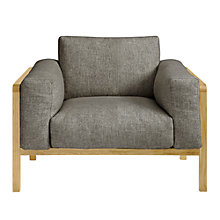 Buy John Lewis Heming Armchair, Torino Charcoal Online at johnlewis.com