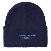 Buy Upton House School Ski Hat, Navy Online at johnlewis.com
