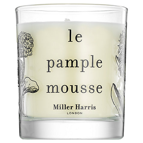 Buy Miller Harris Le Pamplemousse Candle, 185g Online at johnlewis.com