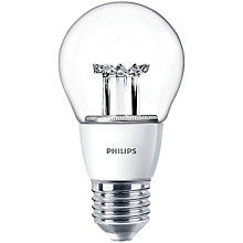 Buy Philips 6W ES LED Classic Bulb, Clear Online at johnlewis.com