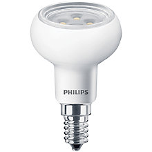Buy Philips 4W SES LED R50 Reflector Dimmable Bulb, Clear Online at johnlewis.com