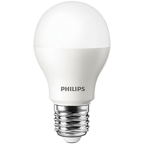 Buy Philips 6W ES LED Classic Bulb, Frosted Online at johnlewis.com