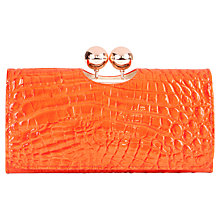 Buy Ted Baker Elmira Exotic Effect Leather Matinee Purse Online at johnlewis.com