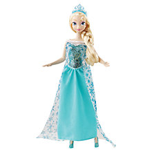 Buy Disney Frozen Musical Magic Elsa Doll Online at johnlewis.com