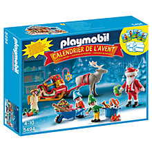 Buy Playmobil Santa's Workshop Advent Calendar Online at johnlewis.com