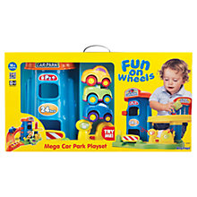 Buy Keenway Fun On Wheels Mega Car Park Play Set Online at johnlewis.com