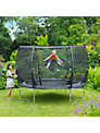 Plum Magnitude Trampoline and 3G Enclosure, 10 Foot