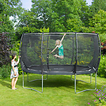 Buy Plum Magnitude Trampoline and 3G Enclosure, 12 Foot Online at johnlewis.com