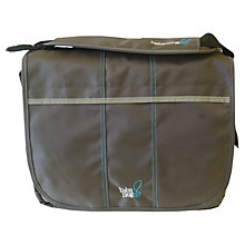Buy BabaBing Daytripper Paternity Satchel, Dark Grey Online at johnlewis.com