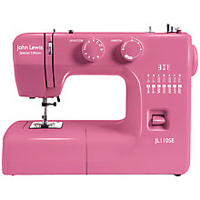 Buy John Lewis Special Edition Sewing Machine, Plum Online at johnlewis.com