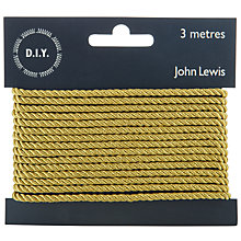 Buy John Lewis Metallic Plait, 3m Online at johnlewis.com