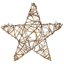 Buy John Lewis Vine Star Wreath Online at johnlewis.com