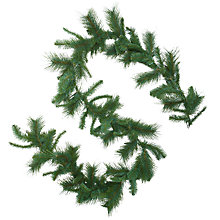Buy John Lewis Mixed Pine Decorative Garland Online at johnlewis.com