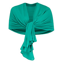 Buy Chesca Pleated Plain Hem Shawl Online at johnlewis.com
