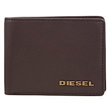 Buy Diesel Neela XS Leather Wallet, Coffee Online at johnlewis.com