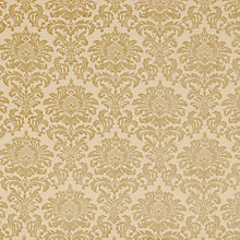 Buy John Lewis Conway Damask Curtain, Gold Online at johnlewis.com