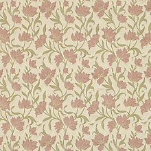 Buy John Lewis Colette Curtain, Pink Online at johnlewis.com