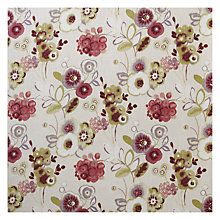 Buy John Lewis Carlotta Curtain, Red Online at johnlewis.com