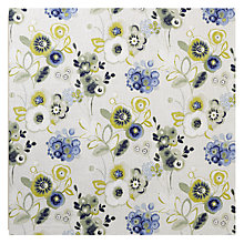 Buy John Lewis Carlotta Curtain, Blue Online at johnlewis.com
