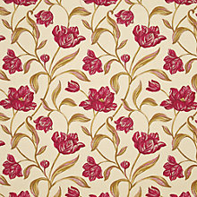 Buy John Lewis Lyssa Curtain, Red Online at johnlewis.com