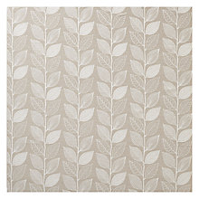 Buy John Lewis Amy Leaf Curtain, Natural Online at johnlewis.com